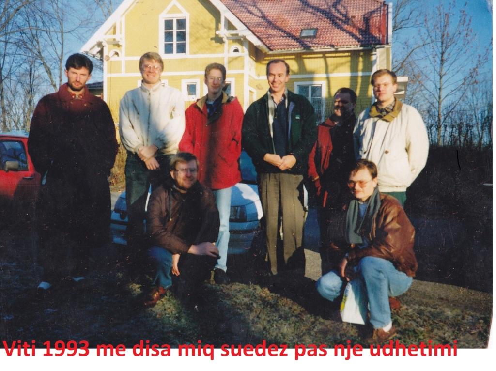 Shemsiu me miqet suedez te klubit te shahut KH Alianssen nga Hallsbergu-Suedi
